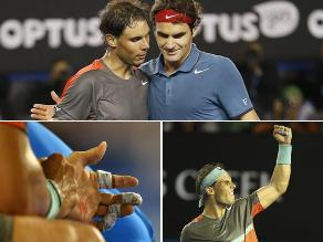 Revive la victoria de Rafael Nadal ante Roger Federer en Melbourne
