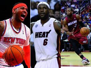 NBA: Estas son las estrellas para el All Star Game 2014