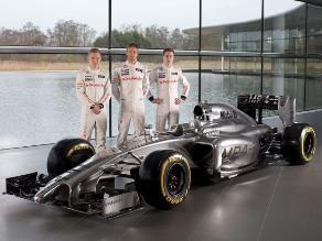 Conoce el nuevo monoplaza de McLaren para el Mundial de Fórmula Uno 2014