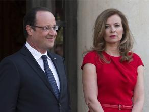 Hollande confirma la separación de su pareja