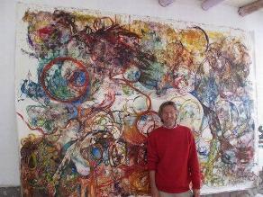 Pintor belga Jan Goris realizan exposición en beneficio del CAM de VMT