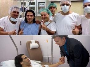Paso a paso: el antes y después de la delicada operación de Radamel Falcao