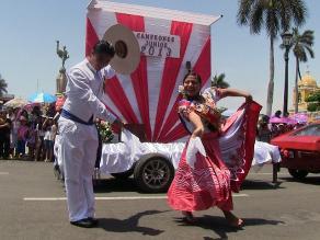 Trujillo: se da inicio al Gran Corso de la Marinera