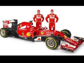 Ferrari presentó nuevo monoplaza para Fernando Alonso y Kimi Raikkonen