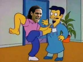Radamel Falcao y los memes sobre su operación a la rodilla izquierda