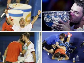 Revive el triunfo de Stanislas Wawrinka sobre Rafael Nadal en Australia