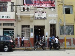 Chiclayo: precandidatos del Apra se inscribieron para internas