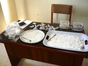 Hallan más de 5 kilos de alcaloide de cocaína en vía Los Libertadores