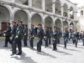 Arequipa: la policía reforzó seguridad en locales de empresas chilenas
