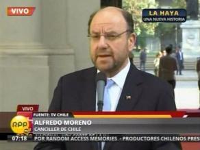 Moreno: Esperamos el fallo con serenidad y confianza