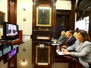 Humala se reunió con su Gabinete Ministerial tras fallo de La Haya
