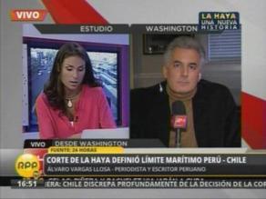 Álvaro Vargas Llosa sobre fallo: Deja satisfechas a ambas partes