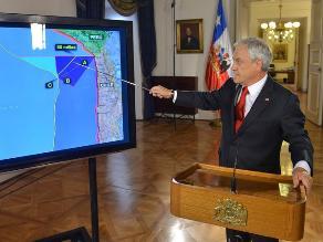 Presidente Piñera se pronunció tras fallo de La Haya