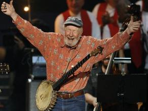 Falleció el cantante Pete Seeger, un icono del folk