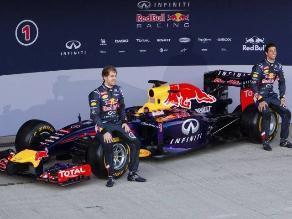 Red Bull presentó el RB10 para buscar su quinto título de Fórmula Uno