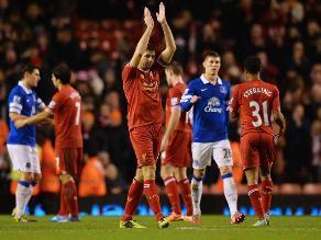 Premier League: Liverpool golea 4-0 a Everton en clásico de la ciudad