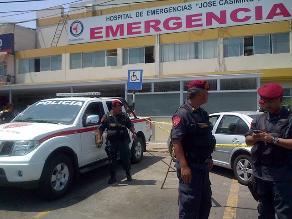Falleció niño que fue herido en balacera de Los Olivos