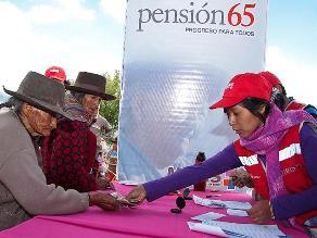 Cajamarca: beneficiarias de Pensión 65 denuncian estafa