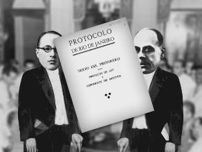 Un día como hoy: en 1942 se firma el Protocolo de Río de Janeiro