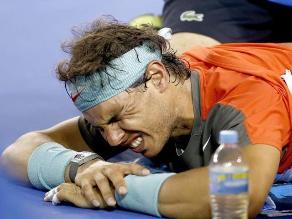 Rafael Nadal pasará el lunes nueva revisión médica por lesión en la espalda