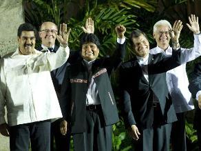 Líderes de la Celac visitan museo dedicado a Hugo Chávez en Cuba