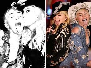 Miley Cyrus y Madonna juntas en el MTV Unplugged