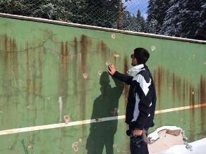 Novak Djokovic le enseñó al mundo la cancha donde practicaba de niño