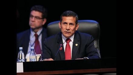 Humala: ´Perú ha cerrado para siempre la delimitación de sus fronteras´