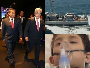 Resumen de hoy: Humala y Piñera acatarán el fallo de forma gradual, navíos peruanos realizan patrullaje en ´triángulo exterior´ y falleció menor que fue impactado por bala en tiroteo