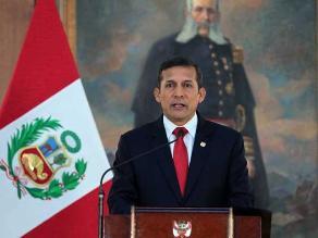 Presidente Humala acude hoy al Congreso para exponer fallo de La Haya