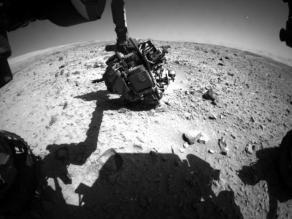 ¿El Curiosity captó un ovni en Marte?