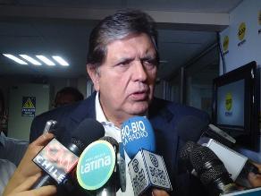 García: Triángulo terrestre le pertenece al Perú, no pisemos el palito