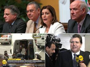 Lo más importante: Rivas asegura que Perú no aceptará condicionamientos de Chile, García reta a Gastón Acurio a postular a la Presidencia y llegan a Lima integrantes de banda ´Cruz de Piura´