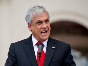 Presidente Piñera insiste en que triángulo terrestre pertenece a Chile