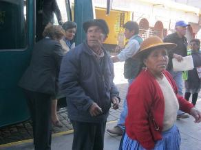 Cajamarca: trabajador acusado de estafa no pertenece a Pensión 65