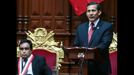 Humala: Implementación de fallo no está sujeta a condicionamientos