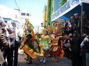 Puno: inician las festividades de la Virgen de la Candelaria