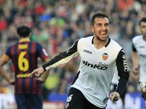 Barcelona cayó en casa ante Valencia y peligra su liderato en la Liga
