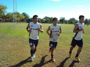 Salvador Cabañas volvió a entrenar oficialmente en un club de fútbol