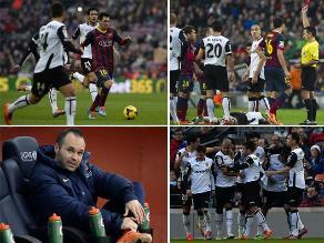 Reviva la derrota del Barcelona ante Valencia en el Camp Nou