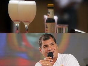 Pasó hoy: Perú celebra Día del Pisco Sour, Rafael Correa felicita solución de diferendo marítimo y gran forado aparece en Pasco