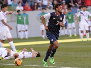 Estados Unidos venció 2-0 a Corea del Sur en amistoso para Brasil 2014
