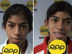 Vivienne y Angie Paulette las triatletas que le regalan medallas al Perú