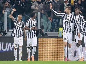 Juventus gana 3-1 al Inter de Milan y se afianza en la punta de la Serie A