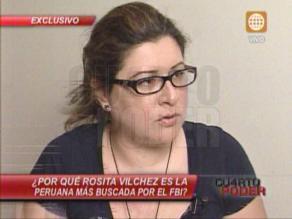 Peruana buscada por FBI brindó declaraciones desde la clandestinidad