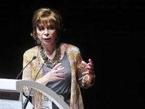 Isabel Allende: Chile le quitó un montón de territorio al Perú