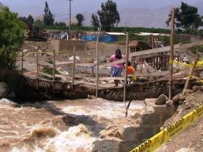 Cajamarca: seis heridos deja la caída de un puente en Chota