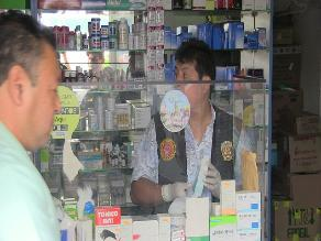 Chiclayo: cierran farmacias que vendían medicamentos ´bamba´
