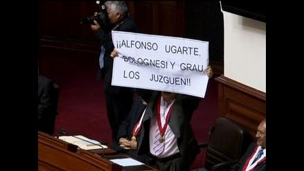 Junta de Portavoces recomienda suspender por 120 días a Jorge Rimarachín