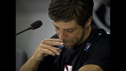 Juninho Pernambucano se despidió del fútbol entre lágrimas